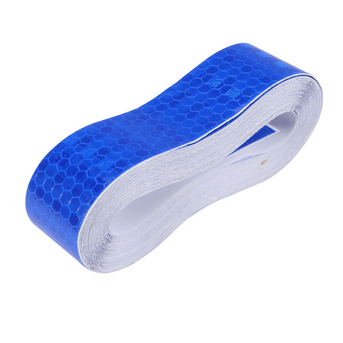Honeycomb Reflective Warning Tape Film Sticker Blue 25mm Width 5m Length