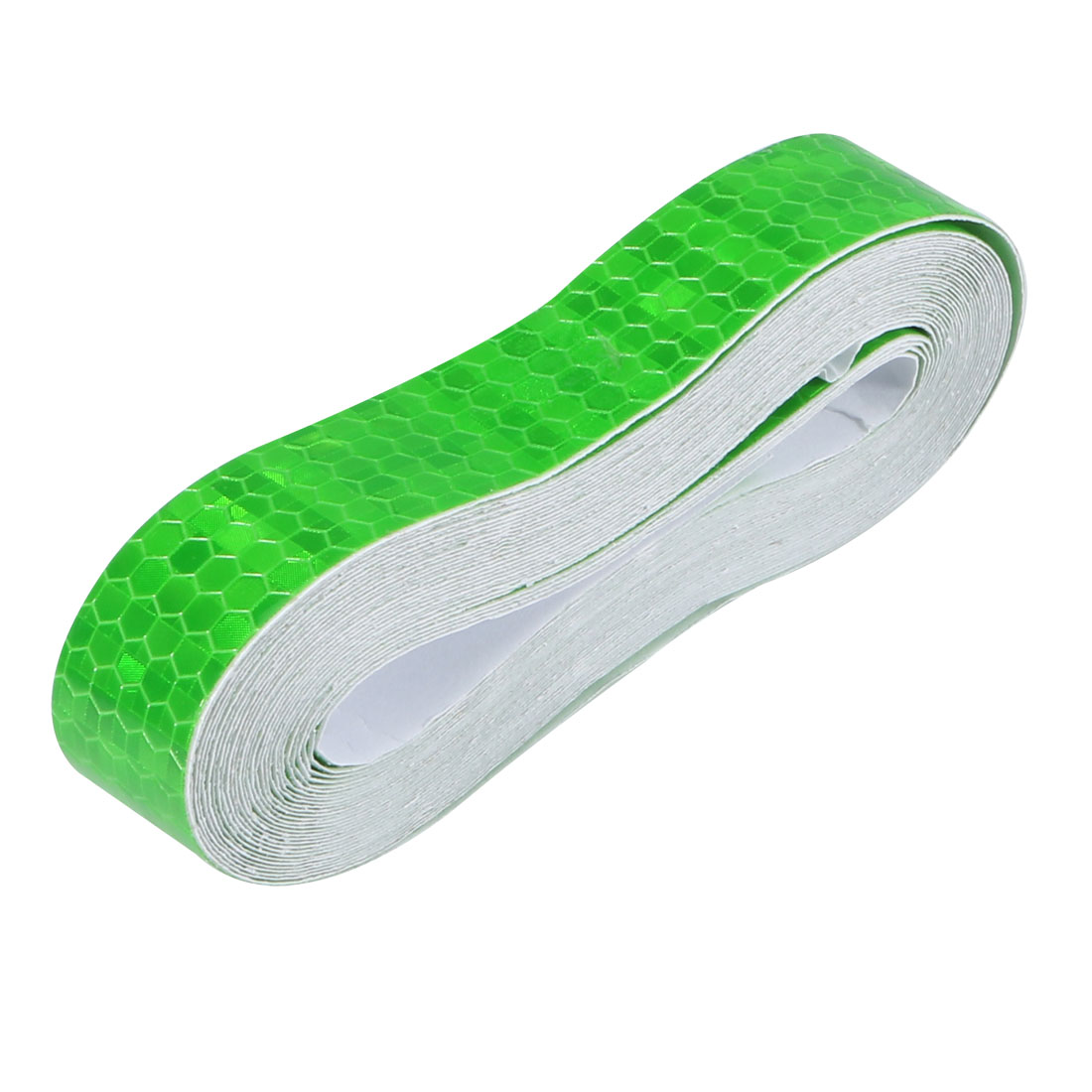 Honeycomb Reflective Warning Tape Film Sticker Green 20mm Width 5m Length