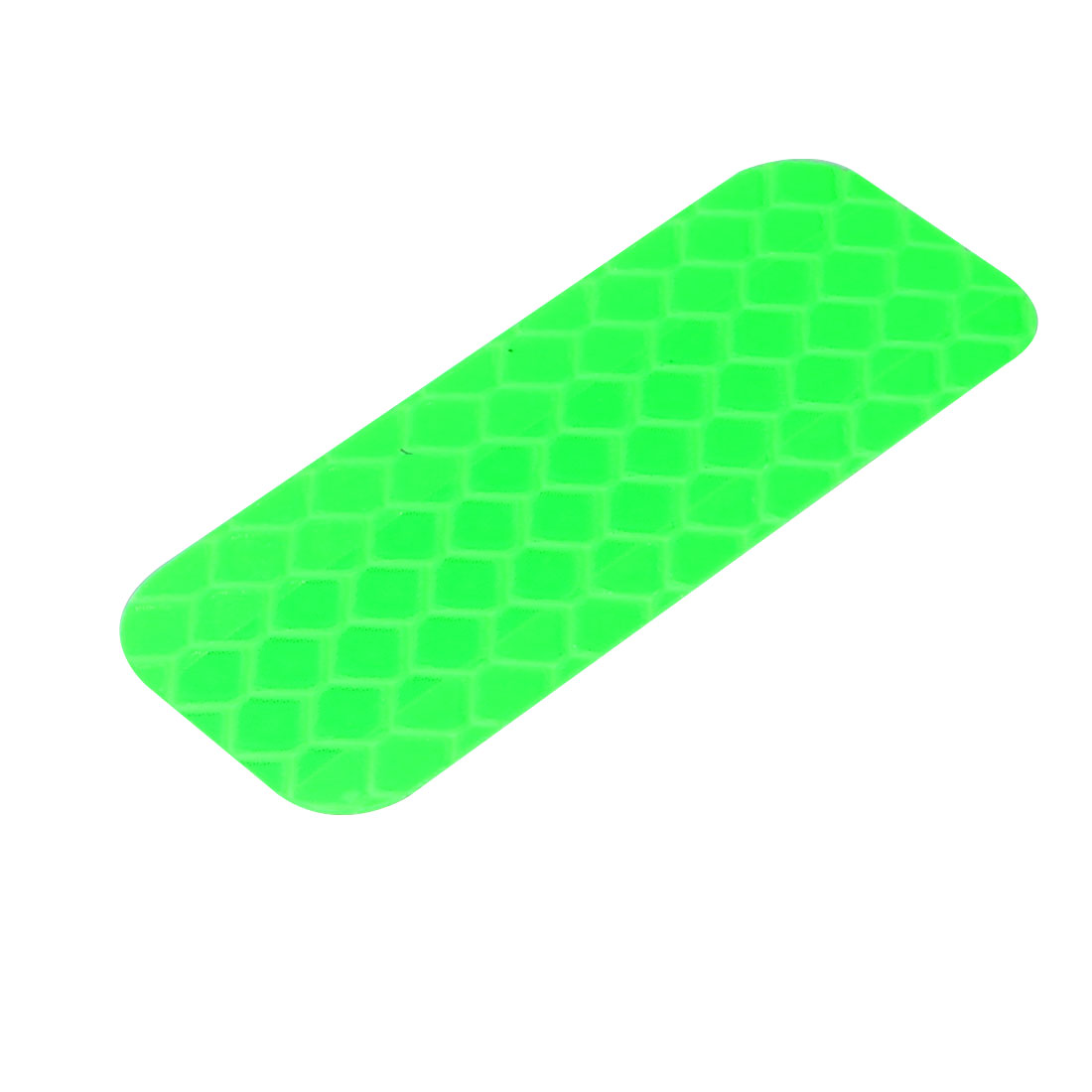 Honeycomb Reflective Warning Tape Film Sticker Green 20mm Width 50mm Length