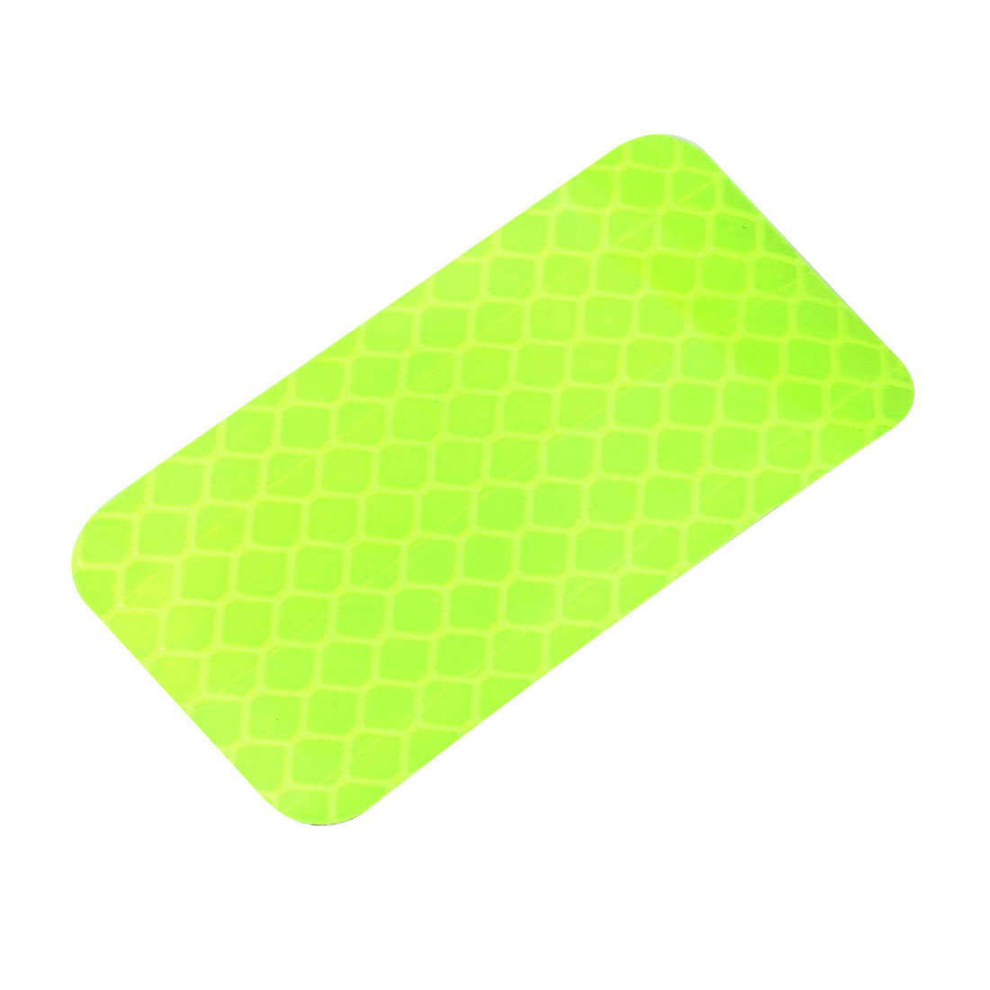 Honeycomb Reflective Warning Tape Film Sticker Yellow 30mm x 60mm