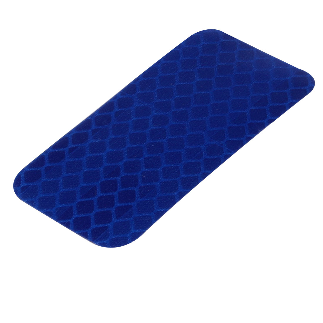 Honeycomb Reflective Warning Tape Film Sticker Blue 30mm x 60mm