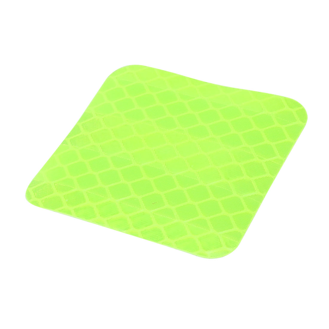 Honeycomb Reflective Warning Tape Film Sticker Light Yellow 40mm x 40mm