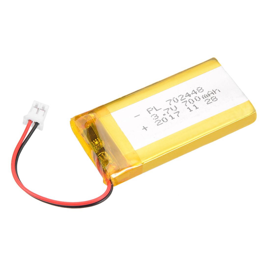 Power Supply DC 3.7V 700mAh 702448 Rechargeable Lithium Polymer Li-Po
