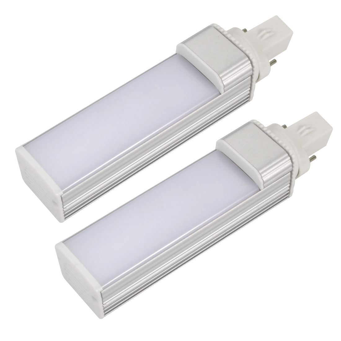 2pack DIY parts for PLC Lamp G23 8W PL-C Lamp Housing Kit w White Cover