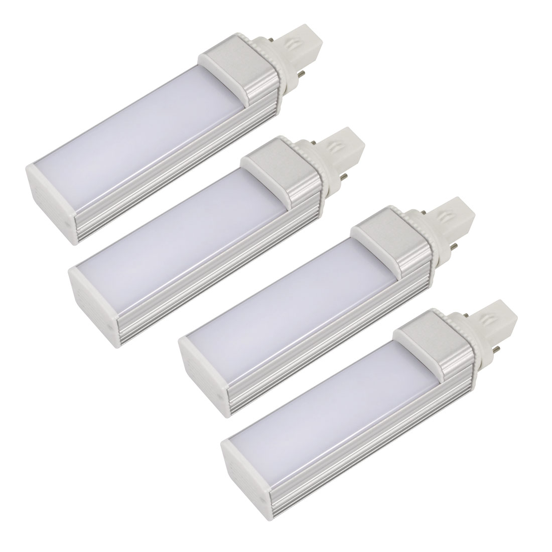 4pack DIY parts for PLC Lamp G23 9W PL-C Lamp Housing Kit w White Cover