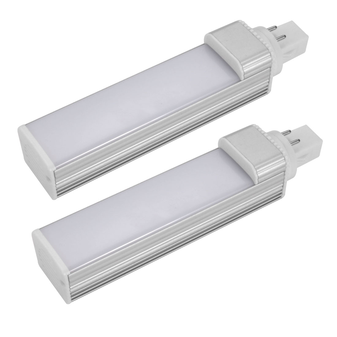 2pack DIY accessories for PLC Lamp G24 12W PLC Lamp Housing Kit w White Cover