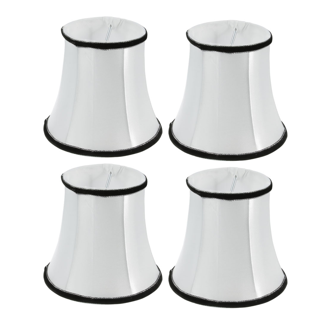 4pcs Light Shade Droplight Wall Lamp Shade White 80mm x 120mm x 110mm