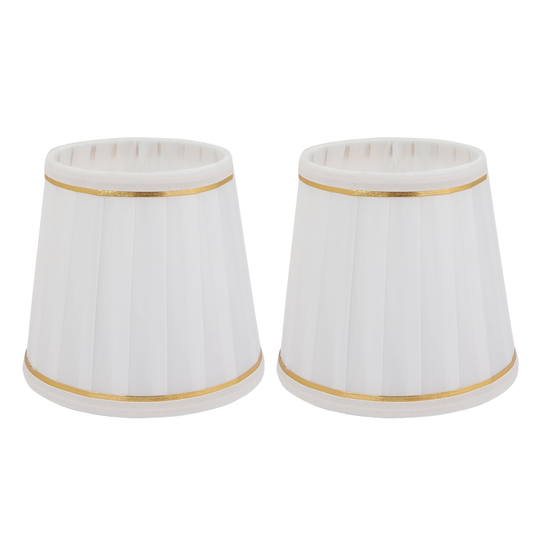 2pcs E14 Droplight Wall Light Candle Chandelier Lamp Shade Fabric-Covered
