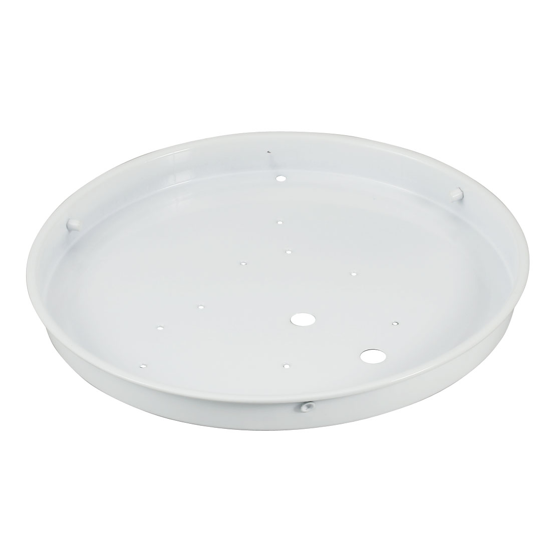 Ceiling Light Sink Mount Plate Iron Lamp Chassis Fitting for 190mm Diameter