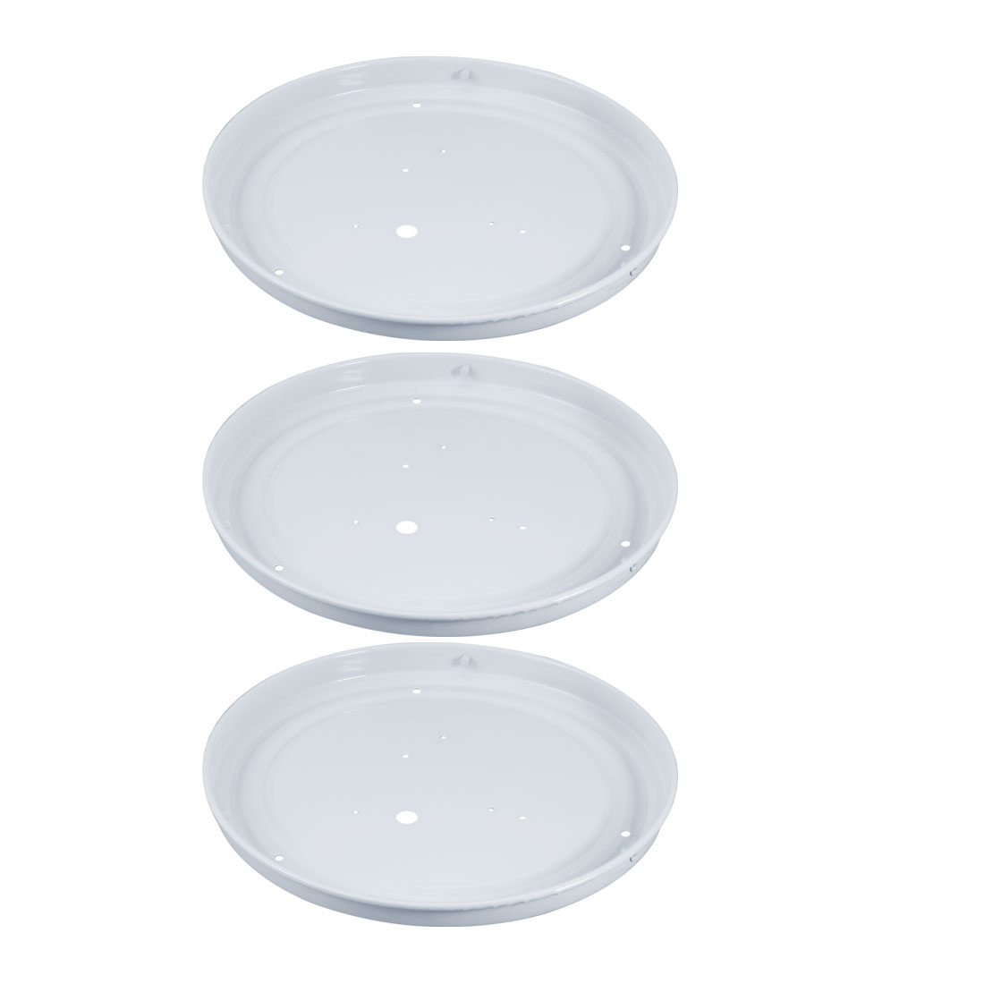 3pcs Ceiling Light Sink Mount Plate Iron Lamp Chassis Fit for 230mm Diameter