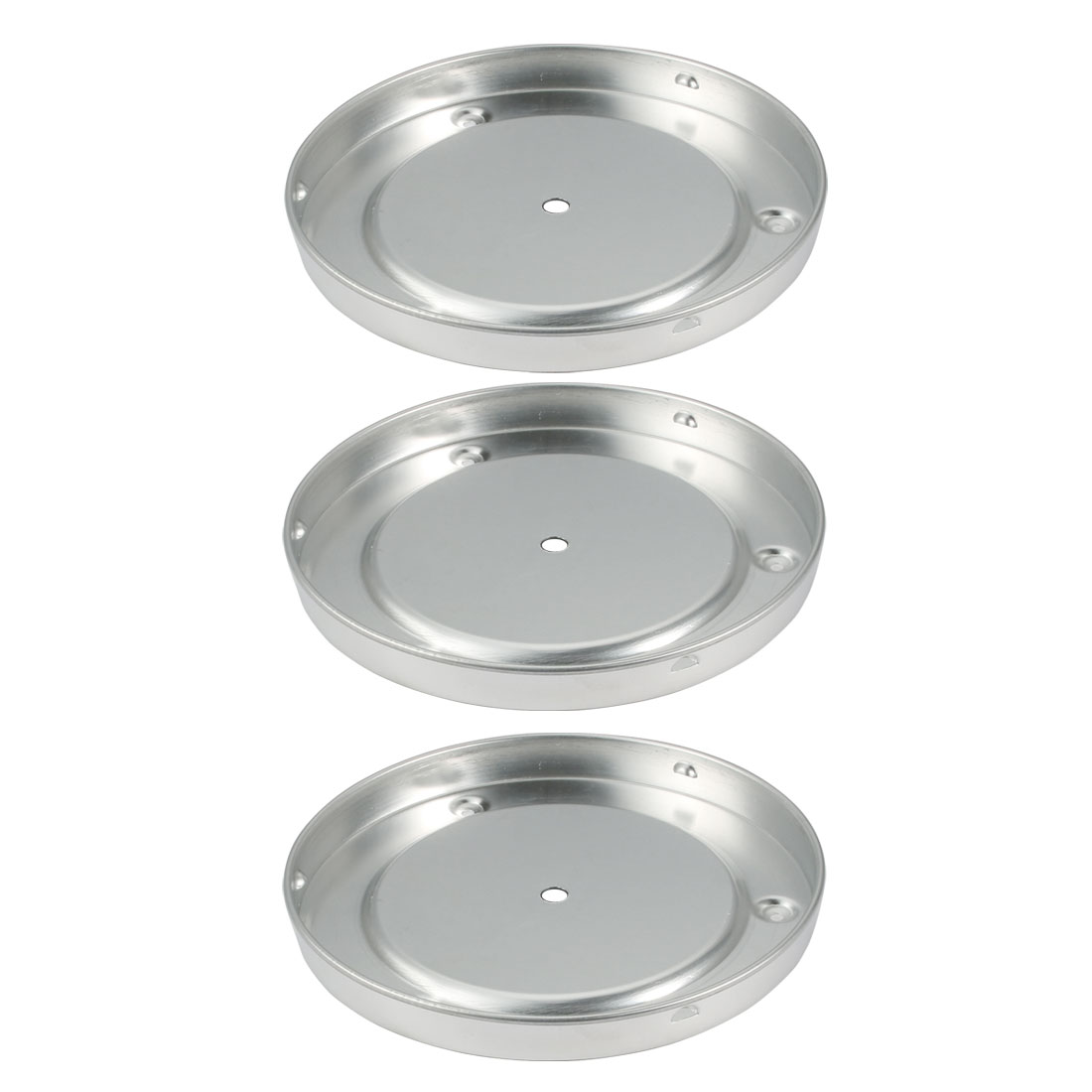 3pcs Aluminum Sink Mount Ceiling Light Lamp Chassis Fitting for 190mm Dia