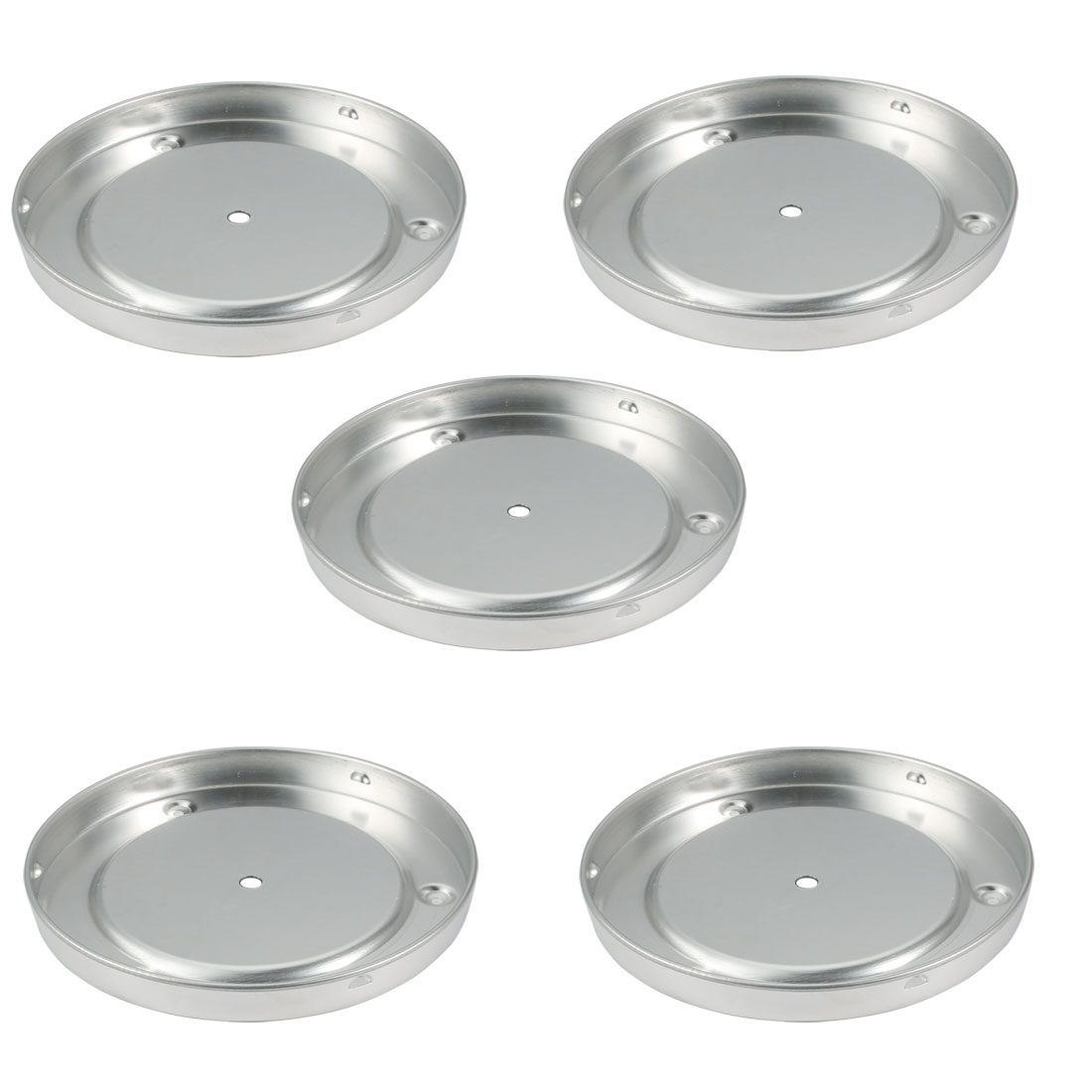 5pcs Aluminum Sink Mount Ceiling Light Lamp Chassis Fittting for 190mm Dia