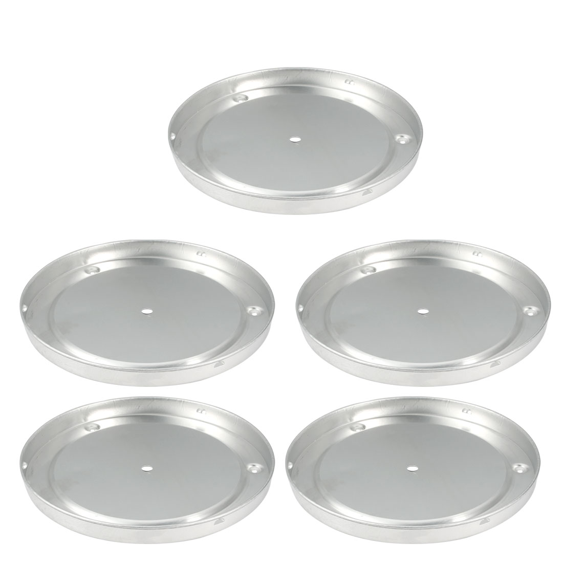 5pcs Aluminum Sink Mount Ceiling Light Lamp Chassis Fitting for 230mm Dia