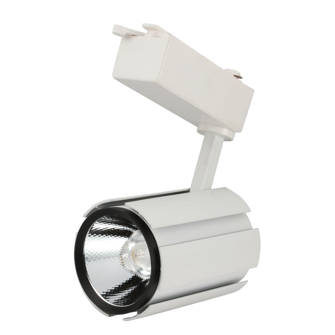 AC85-265V 18W COB Chip LED Track Rail Light Spotlight Fixture Warm White Light