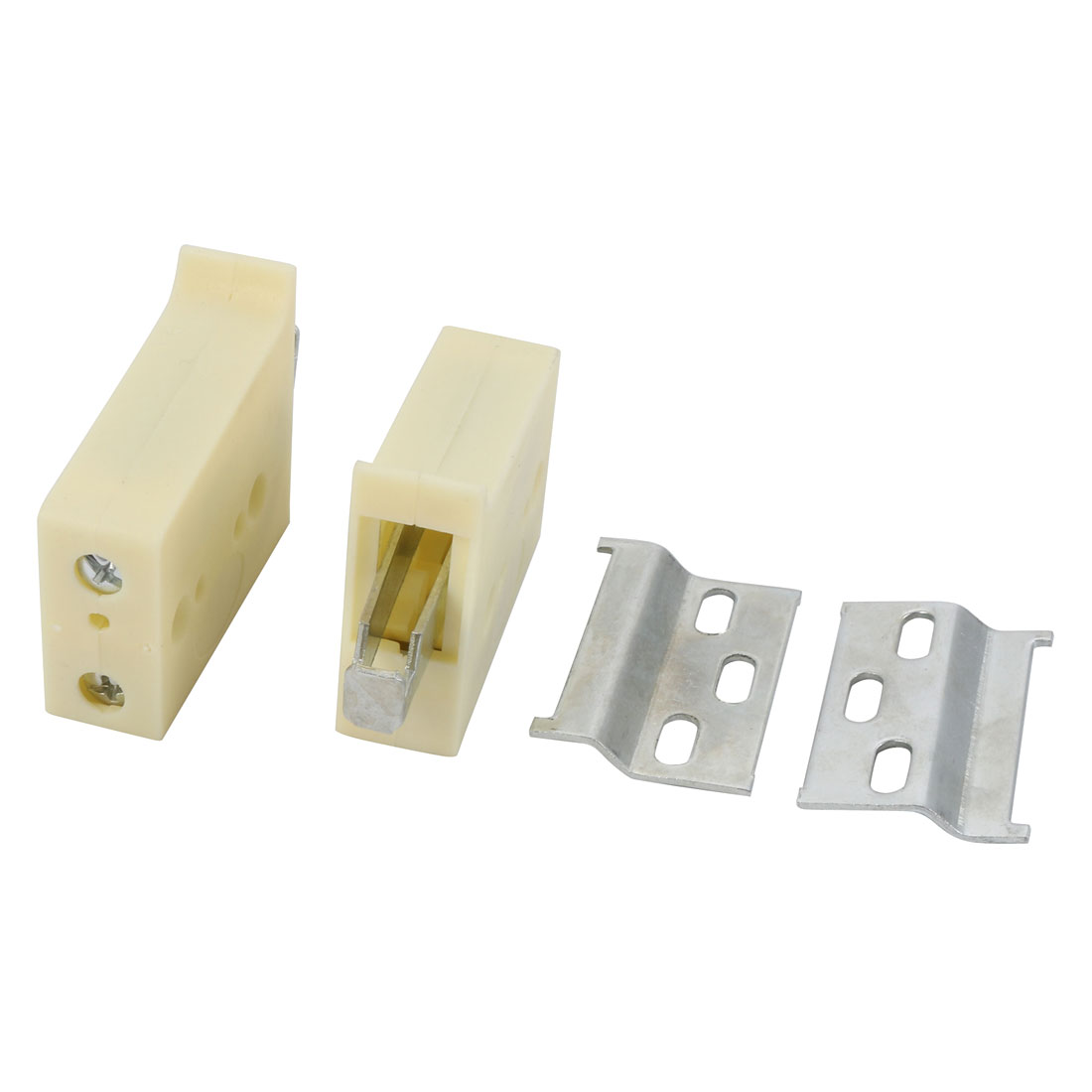 2Pcs Wall Mounted Shelves Storage Cabinet Adjustable Z-Clip Hanger