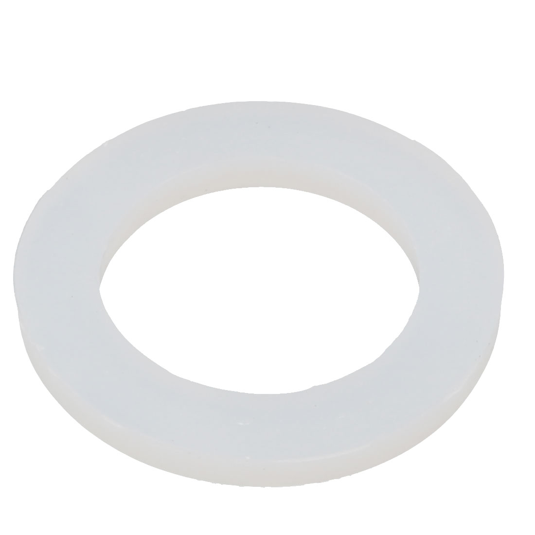 31mmx21mmx3mm O-shaped Sealing Ring Silicone Grommet Gasket White