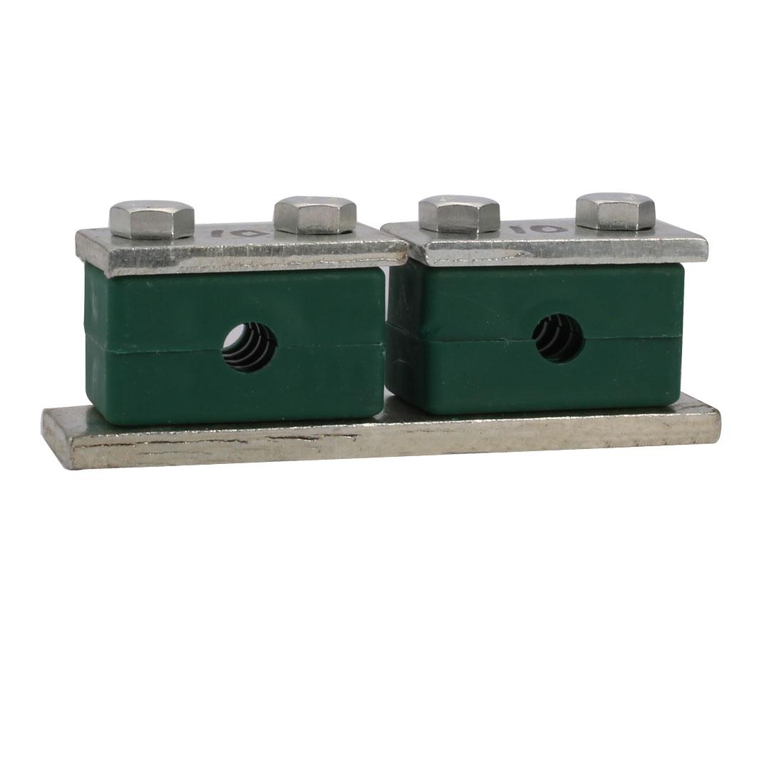 Twin Series Beta Heavy Hose Pipe Clamp Polypropylene Fit 10mm Tube Diameter