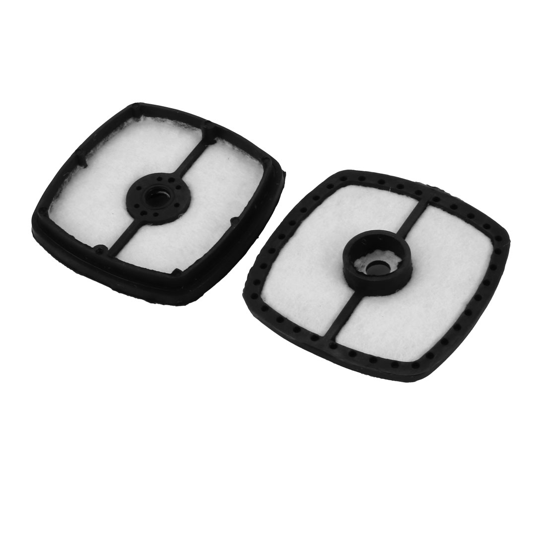 2pcs Replacement Extra Guard Panel Engine 7 Air Filter Cleaner Accessory Black