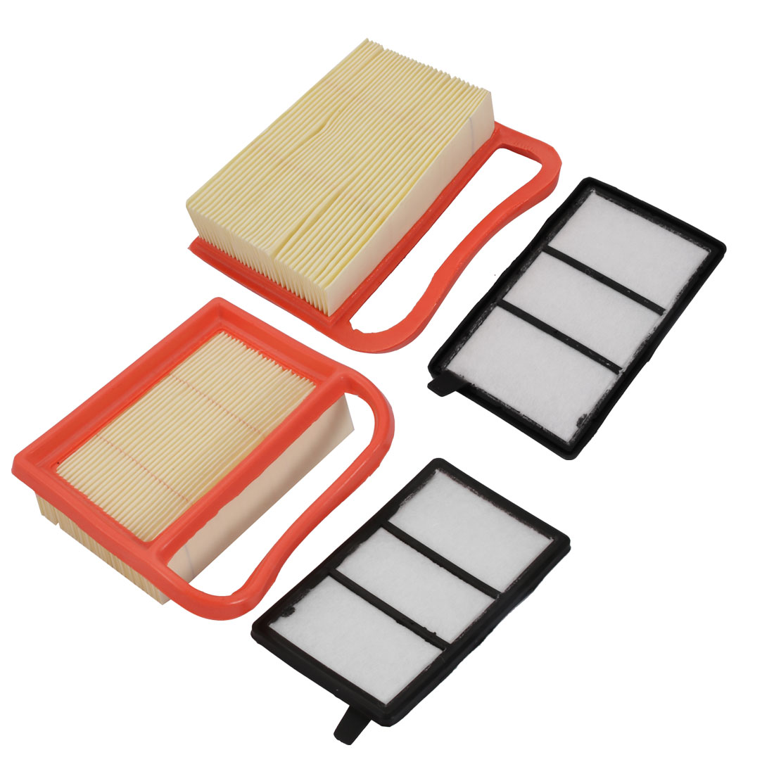 2pcs Replacement Extra Guard Panel Engine TS410 Air Filter Cleaner Accessory