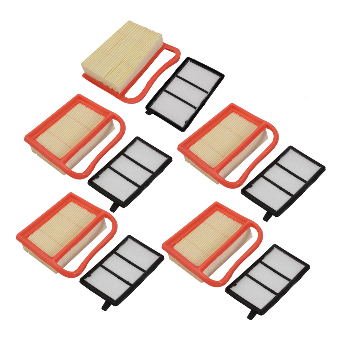 5pcs Replacement Extra Guard Panel Engine TS410 Air Filter Cleaner Accessory