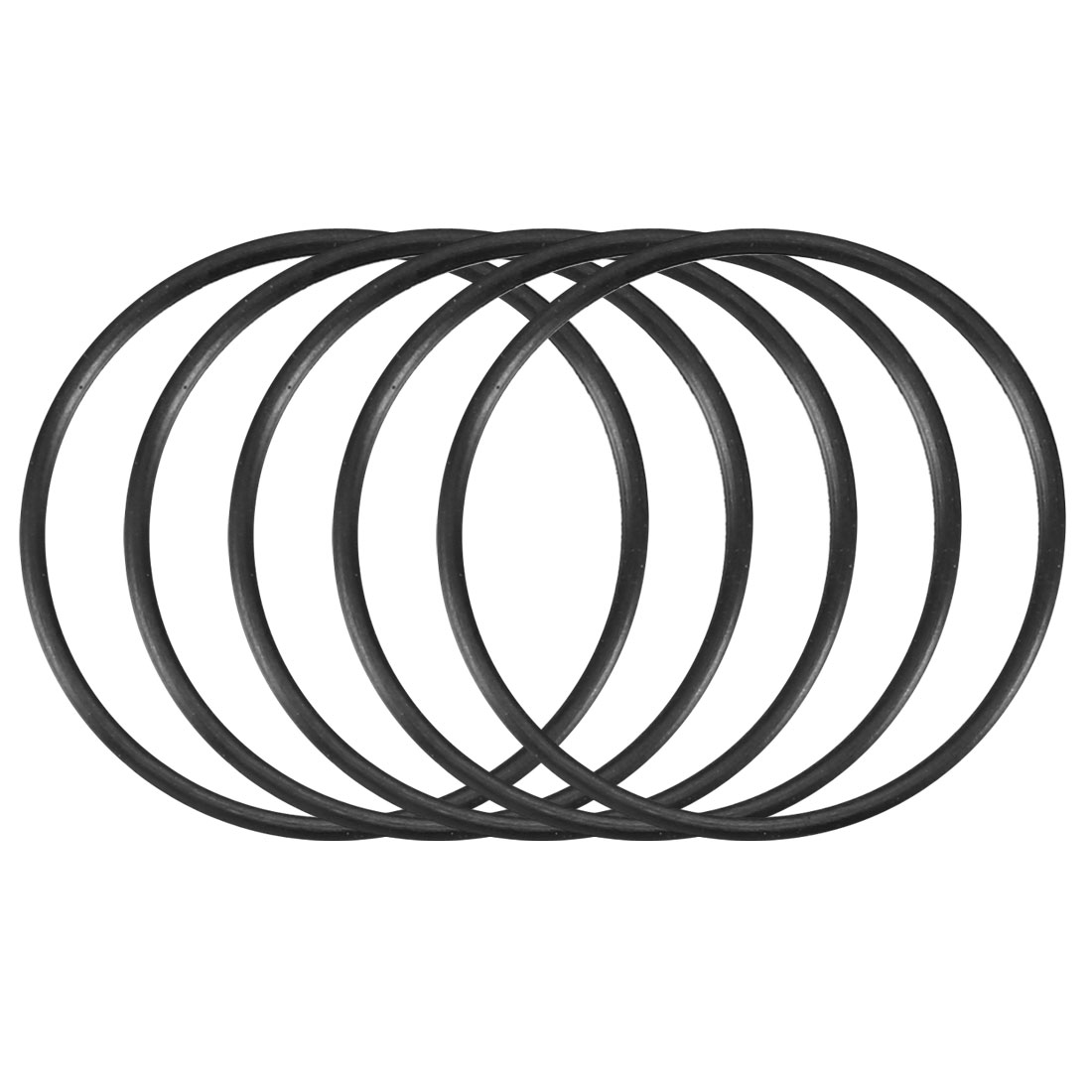 30pcs Black Nitrile Butadiene Rubber NBR O-Ring 16.2mm Inner Dia 0.8mm Width