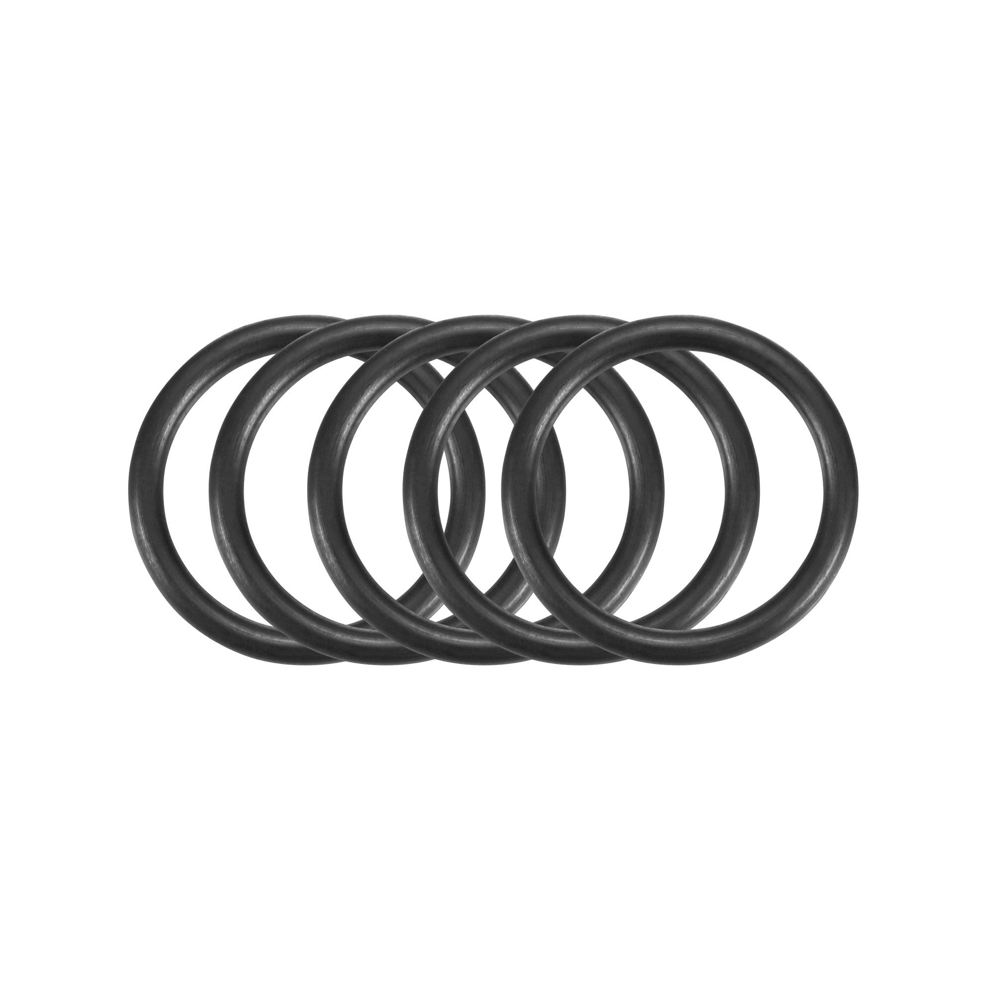 30pcs Black Nitrile Butadiene Rubber NBR O-Ring 11.5mm Inner Dia 1.5mm Width