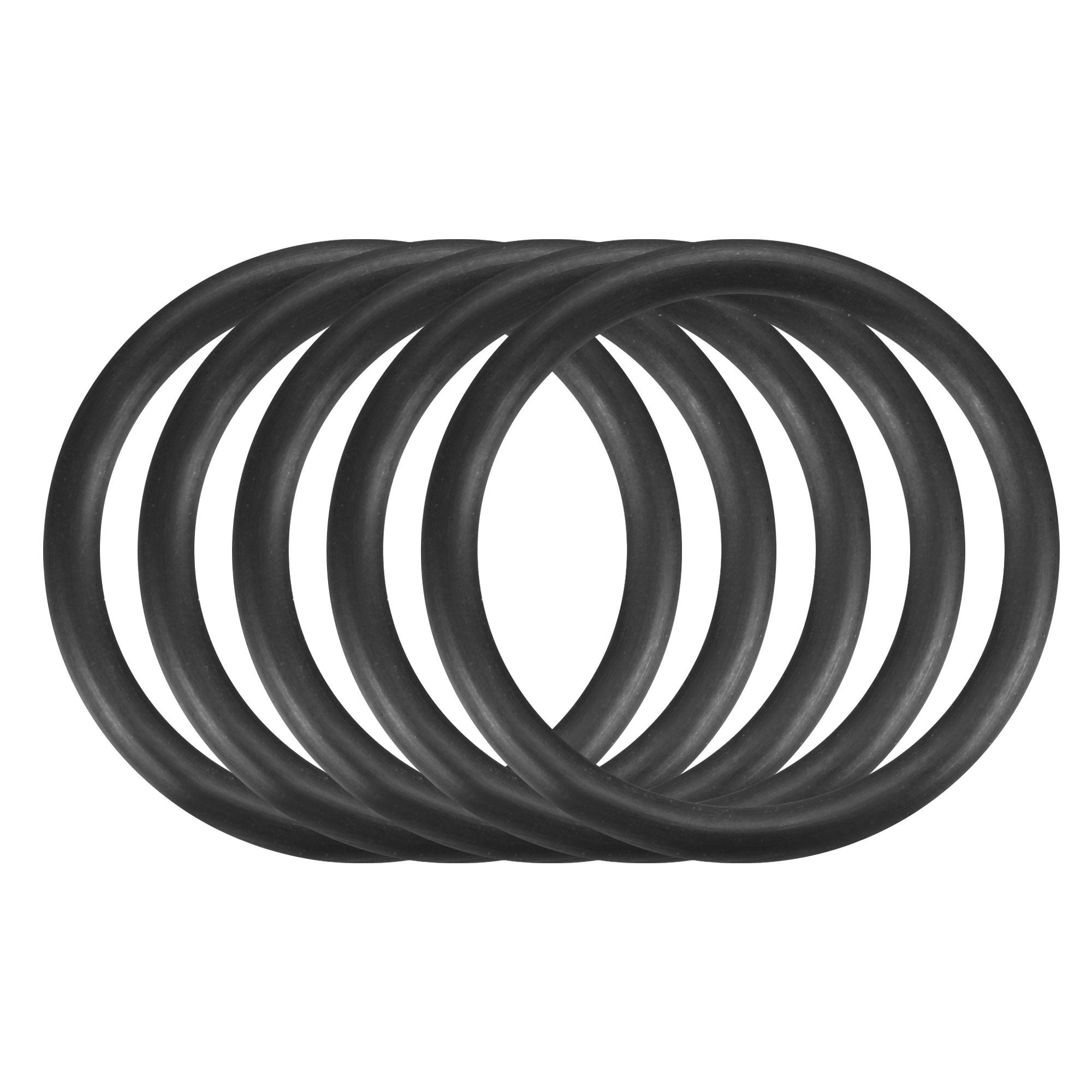30pcs Black Nitrile Butadiene Rubber NBR O-Ring 19.5mm Inner Dia 2.4mm Width