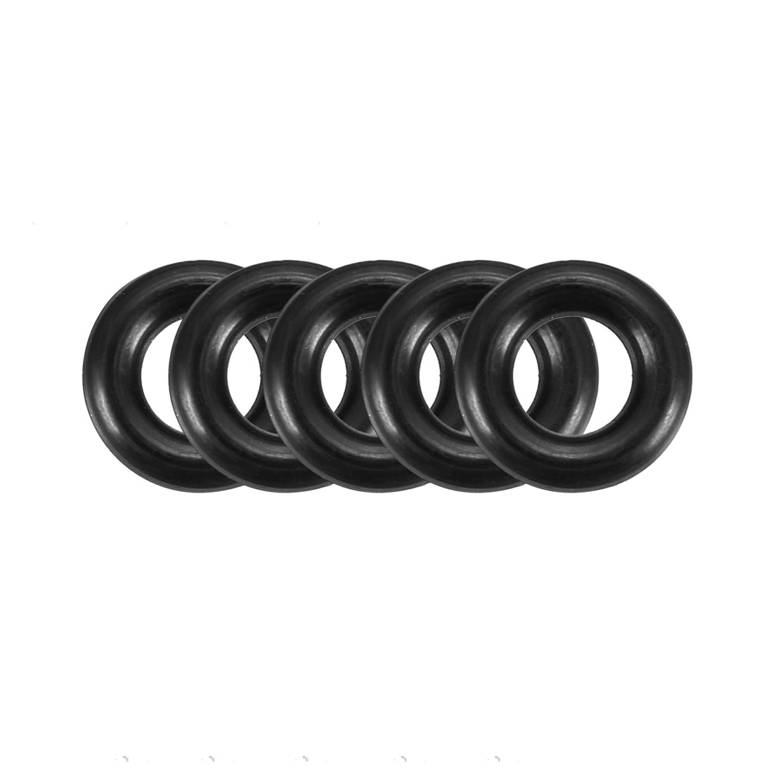 50pcs Black Nitrile Butadiene Rubber NBR O-Ring 3.55mm Inner Dia 1.8mm Width