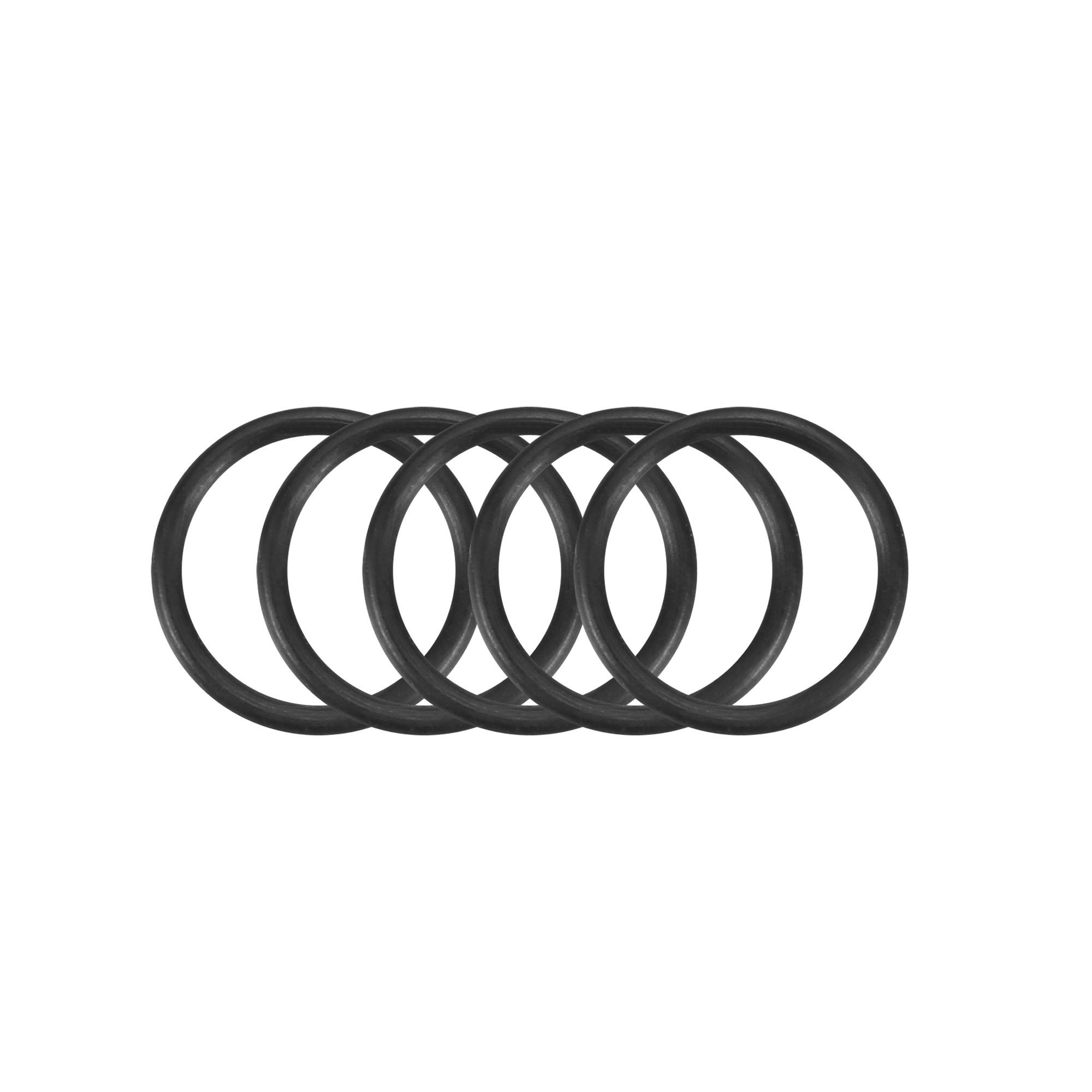 5pcs Black Nitrile Butadiene Rubber NBR O-Ring 6mm Inner Dia 0.7mm Width