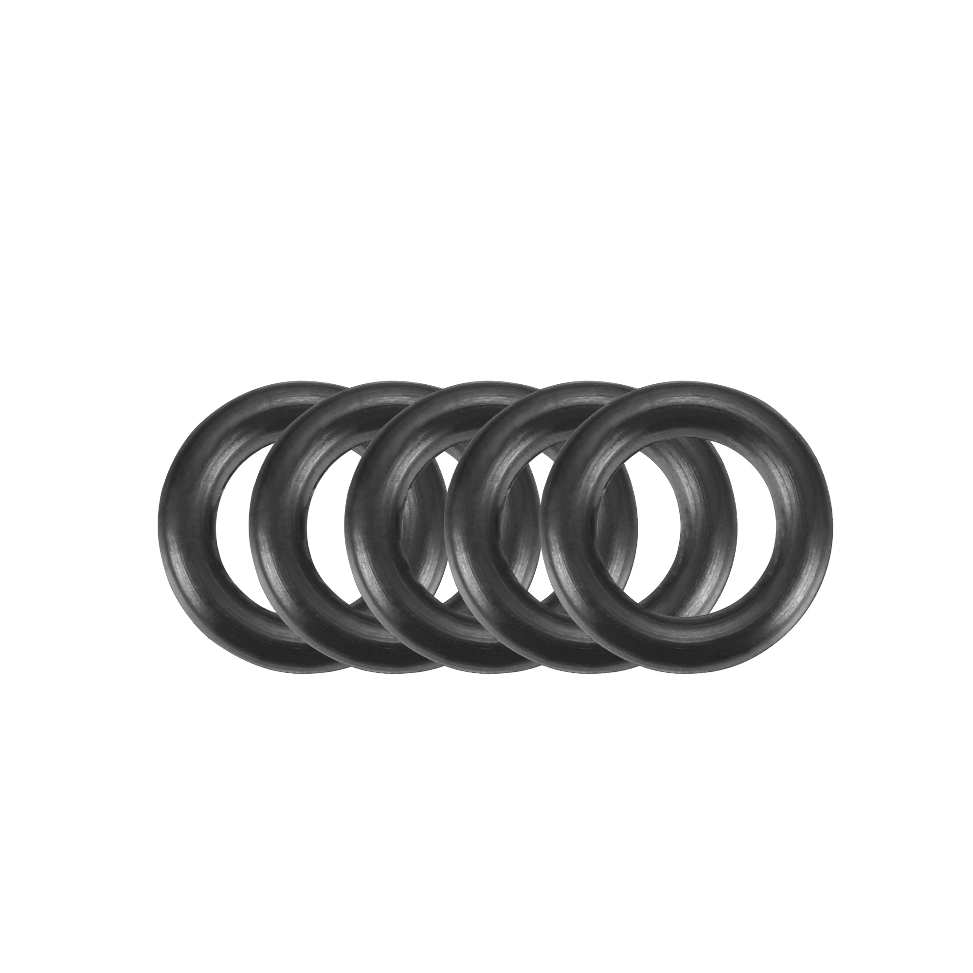 30pcs Black Nitrile Butadiene Rubber NBR O-Ring 5.8mm Inner Dia 1.9mm Width