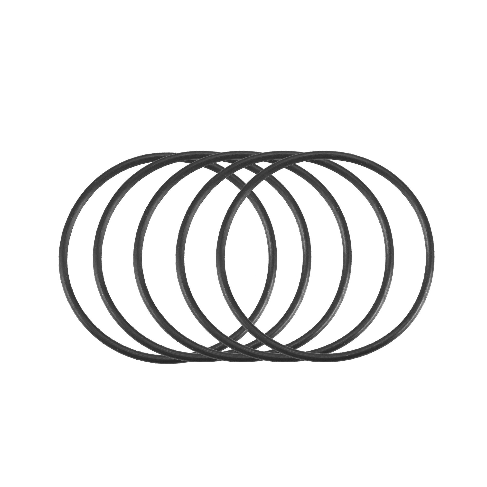 50pcs Black Nitrile Butadiene Rubber NBR O-Ring 23.5mm Inner Dia 1mm Width