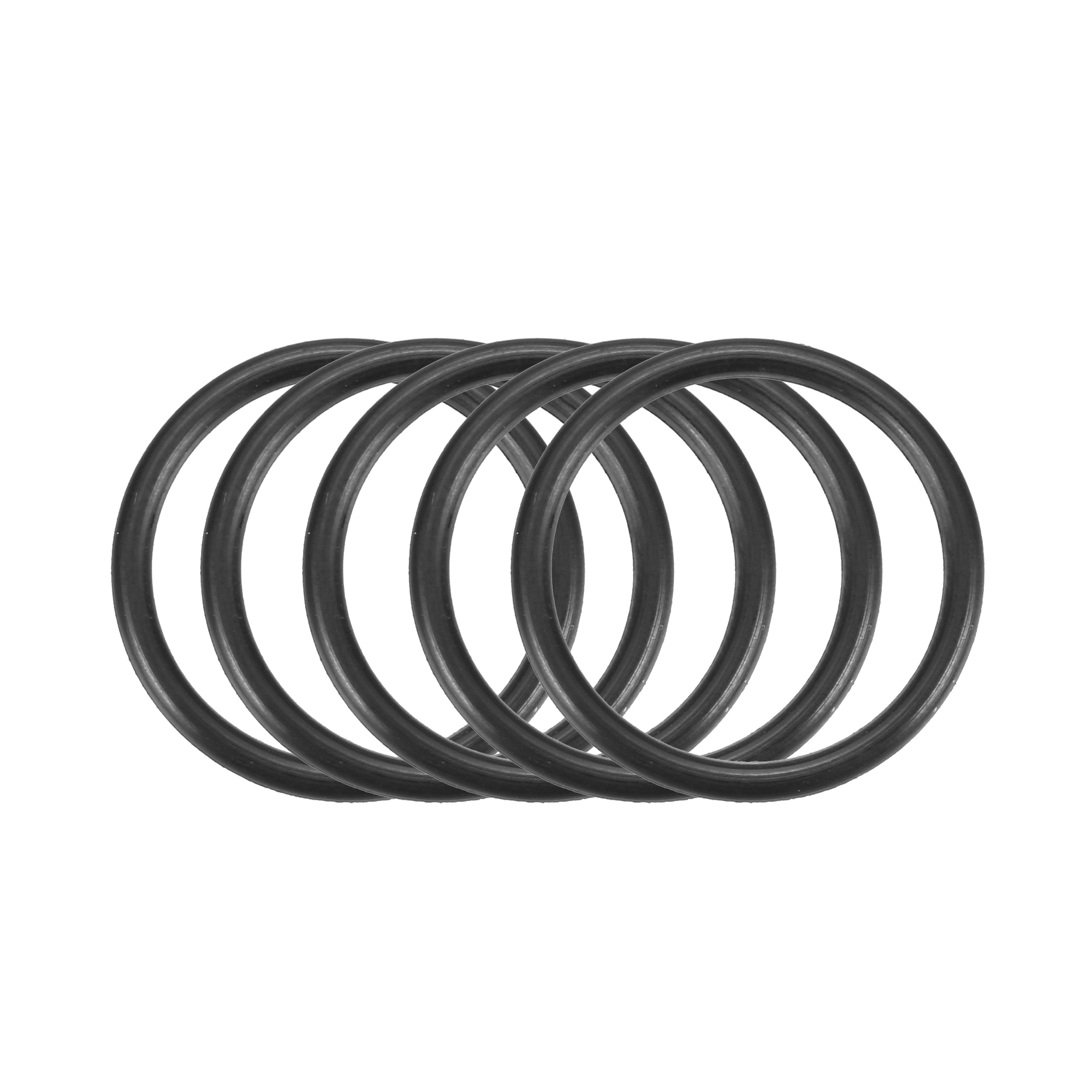 30pcs Black Nitrile Butadiene Rubber NBR O-Ring 21mm Outer Dia 1.8mm Width