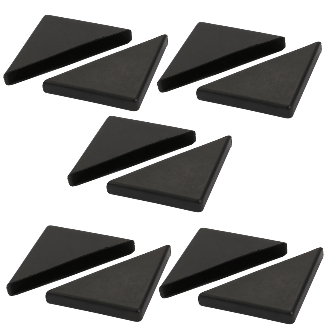 10pcs 55mmx55mm Plastic Table Desk Corner Guard Protector Fit for 8mm Thickness