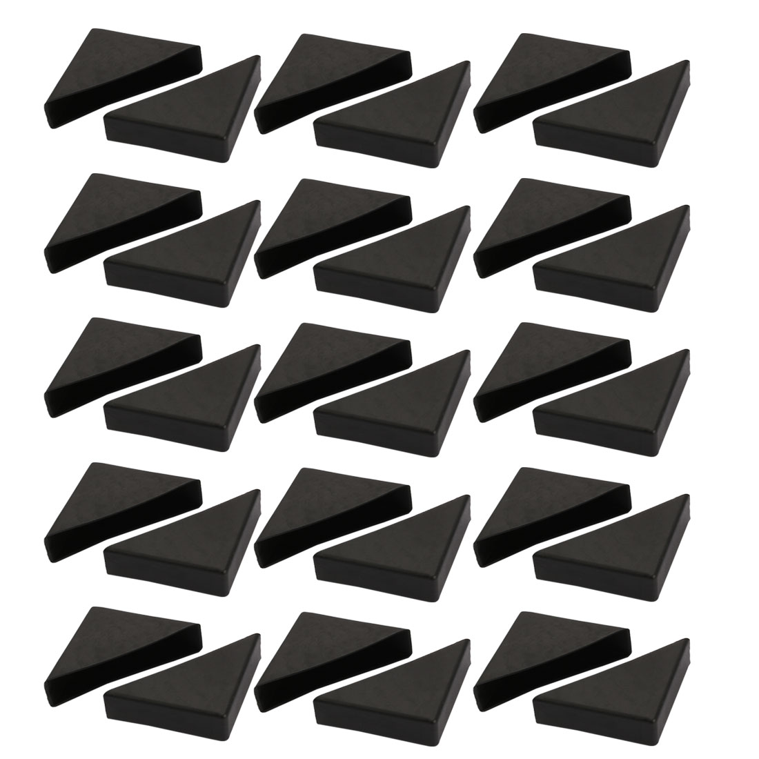 30pcs 55mmx55mm Plastic Table Desk Corner Guard Protector Fit for 15mm Thickness