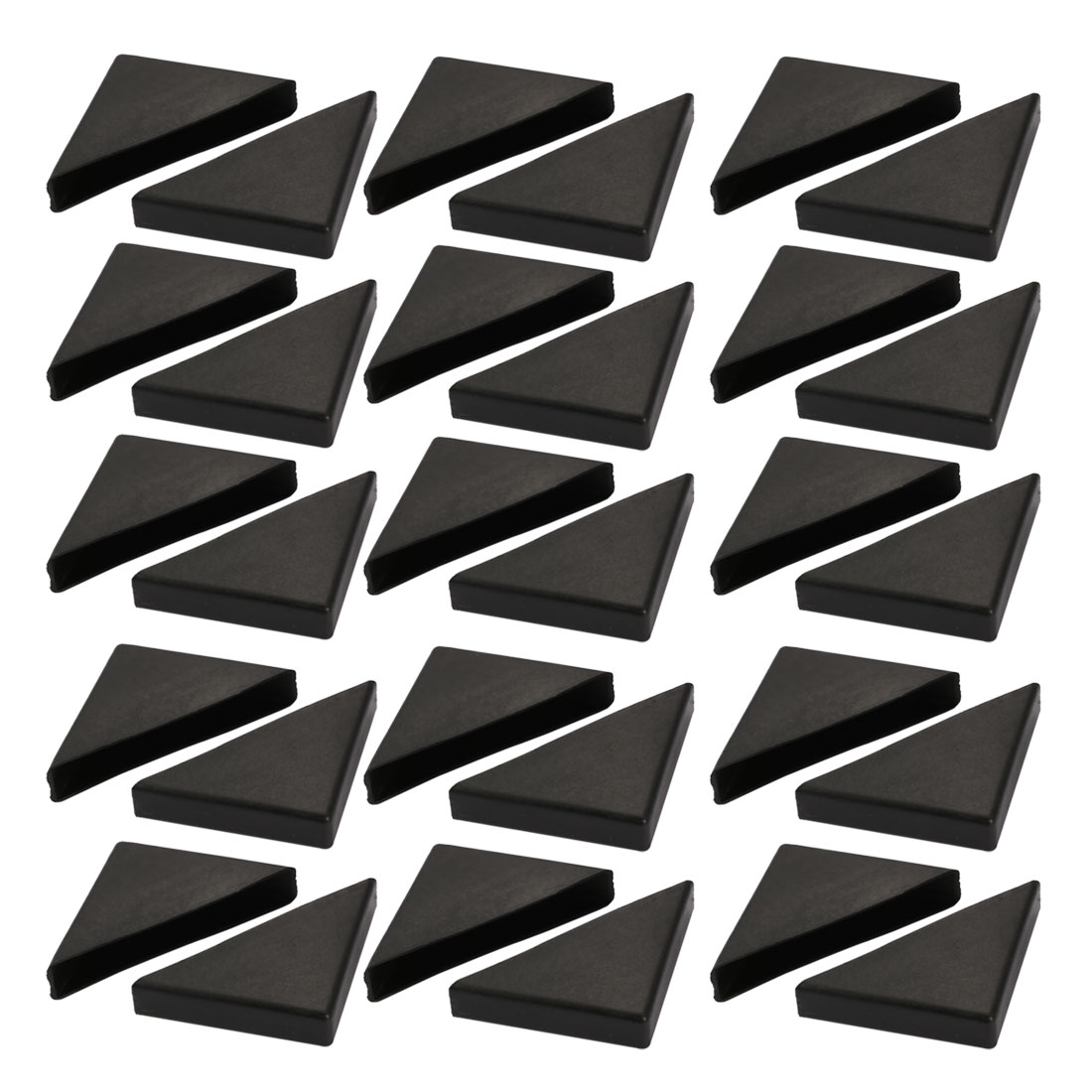 30pcs 55mmx55mm Plastic Table Desk Corner Guard Protector Fit for 12mm Thickness