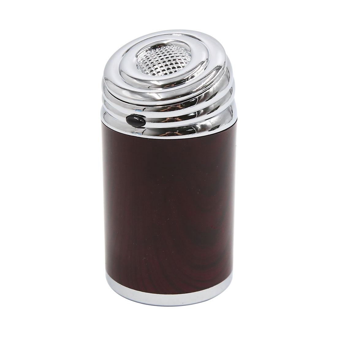 Portable Coffee Auto Car Blue Light LED Travel Cigarette Cylinder Ashtray Holder