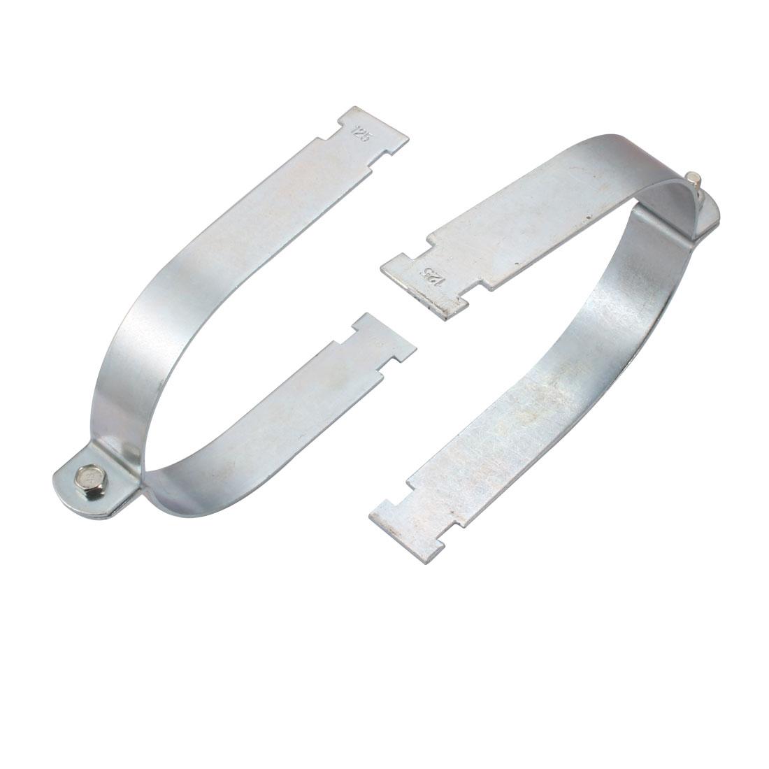 2Pcs Rigid Steel Conduit Strut Mounted Clamp for 125mm Nominal Diameter Tube