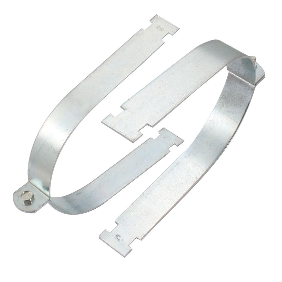 2Pcs Rigid Steel Conduit Strut Mounted Clamp for 150mm Nominal Diameter Tube