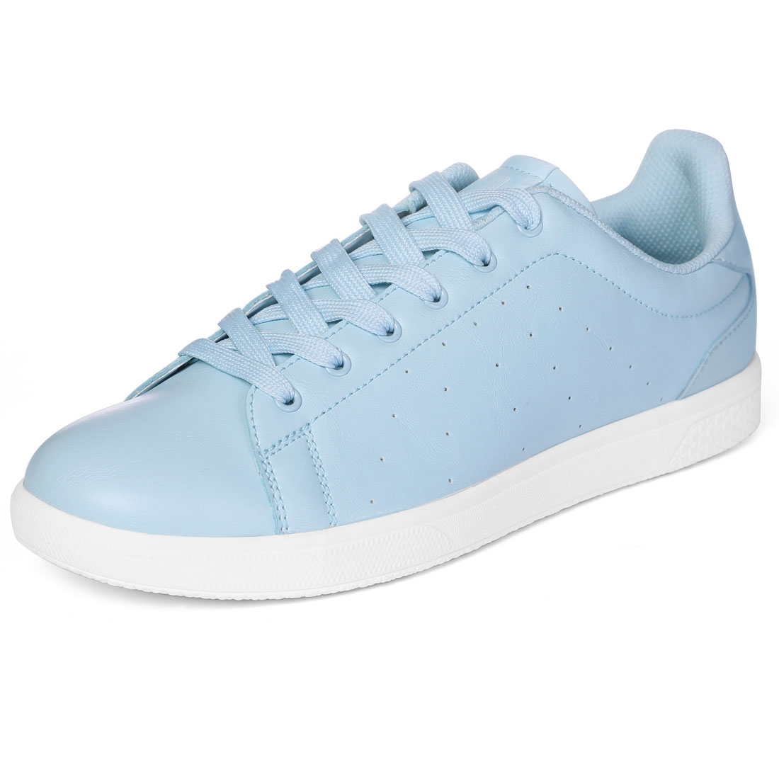PYPE Women Round Toe Low Top Lace Up Sneakers Blue US 7