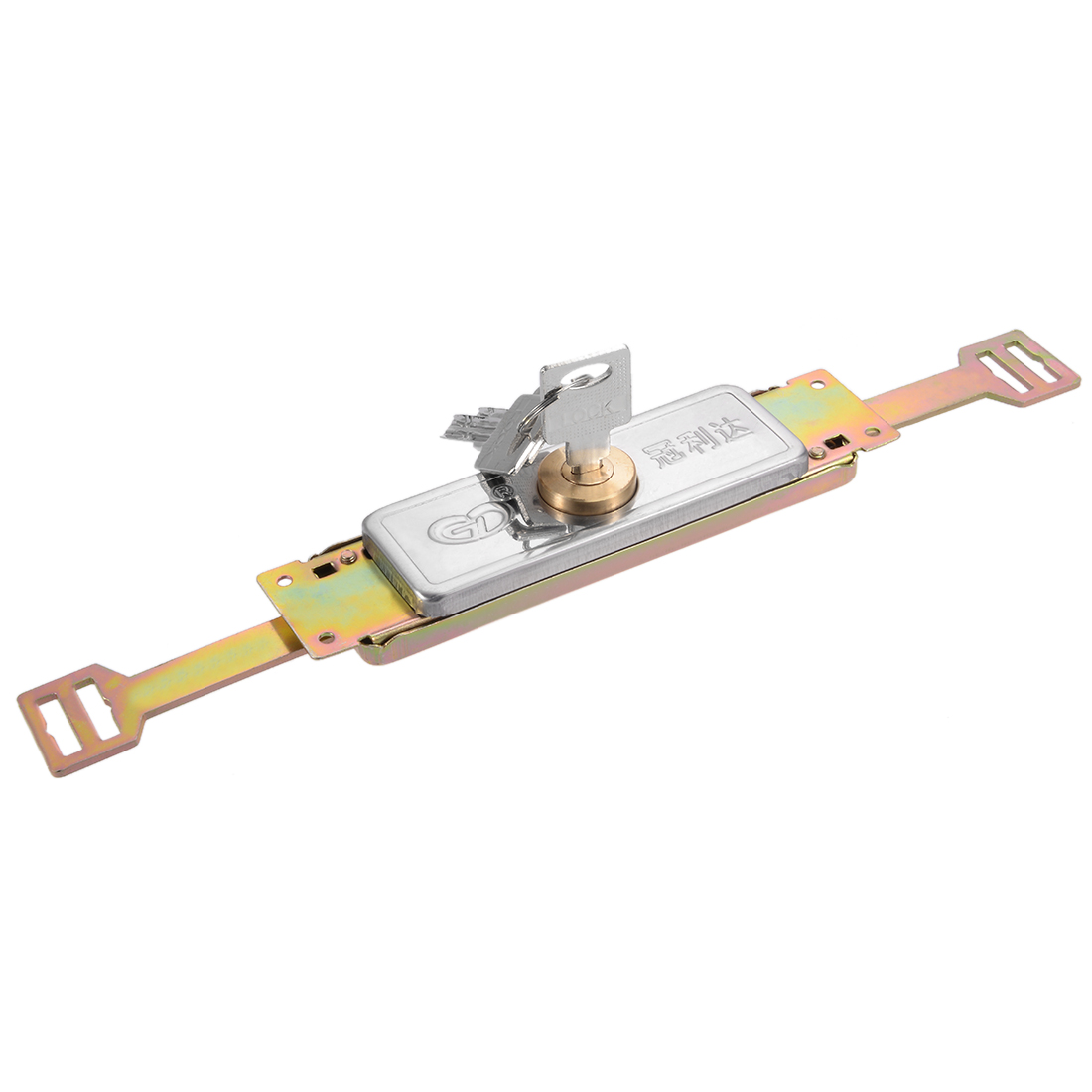 302mm Locked Length Cylinder Moon Key Type Safety Rolling Shutter Door Lock