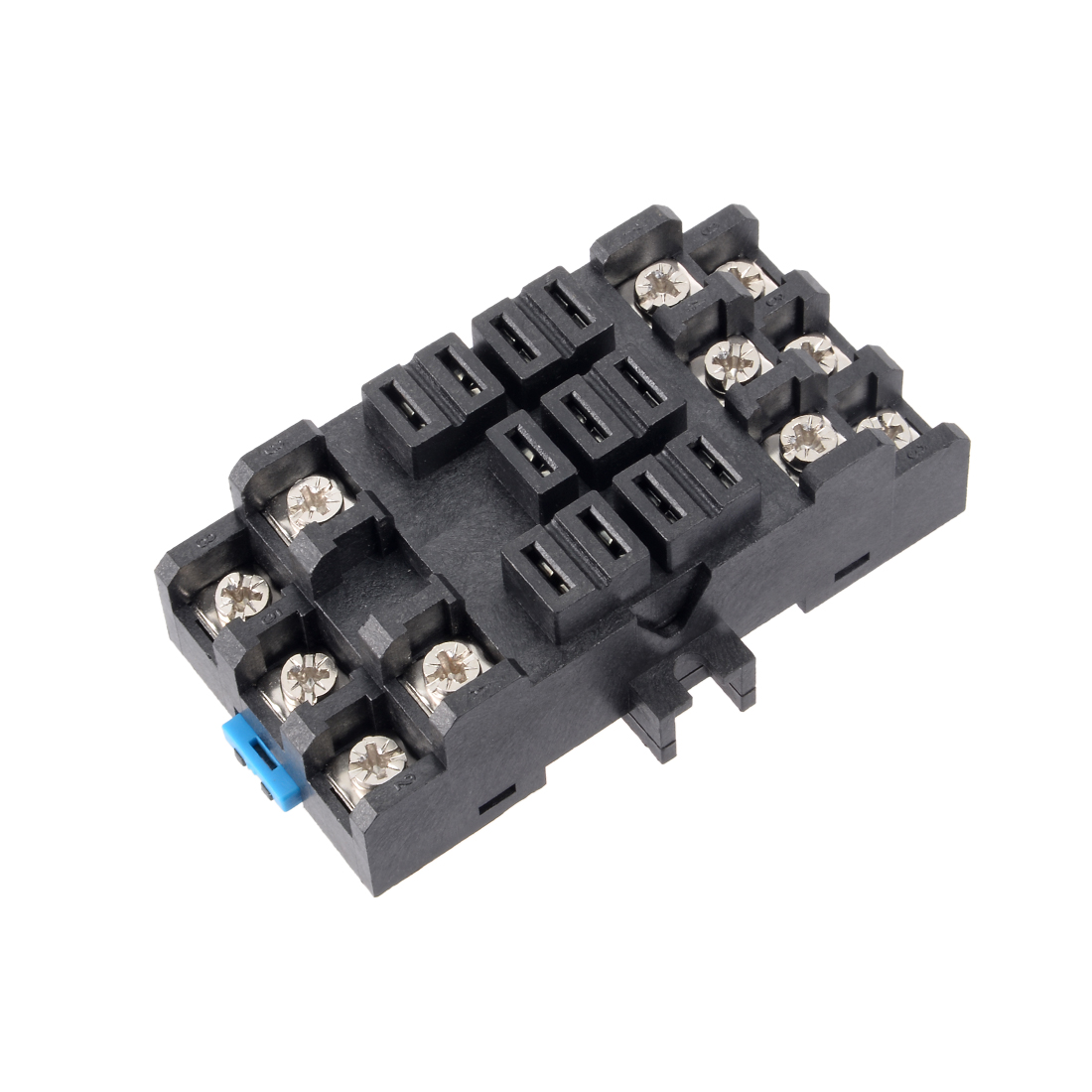 Rail Mounted 11 Terminals Power Relay Socket Base 38F-11A for JQX-38F