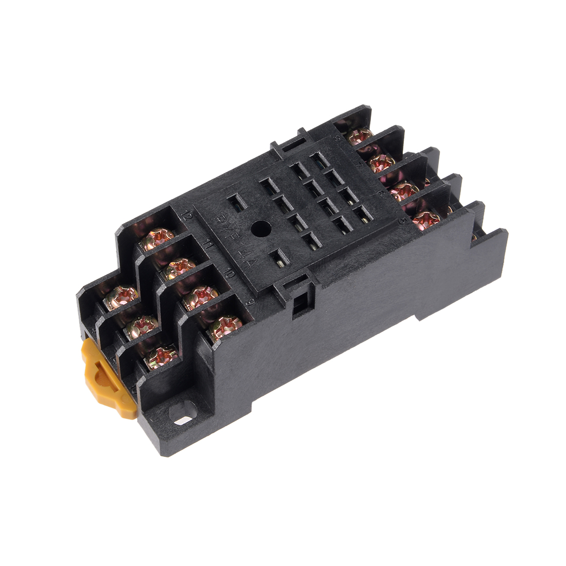 Rail Mounted 14 Terminals Power Relay Socket Base PYF-14A for H3Y-4