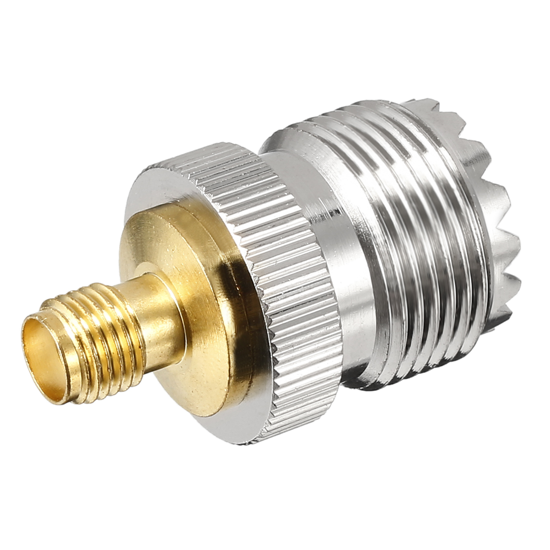 Silver/Gold Tone SMA Female to SL16 Female Jack RF Coaxial Adapter Connector
