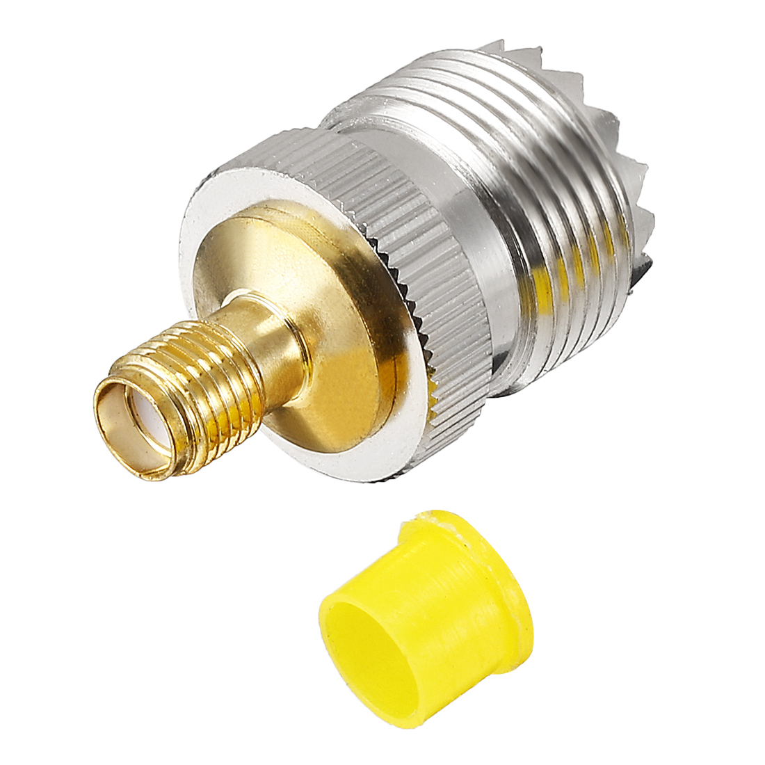 Gold(Silver) Tone SMA Female to SL16 Female Jack RF Coaxial Adapter Connector