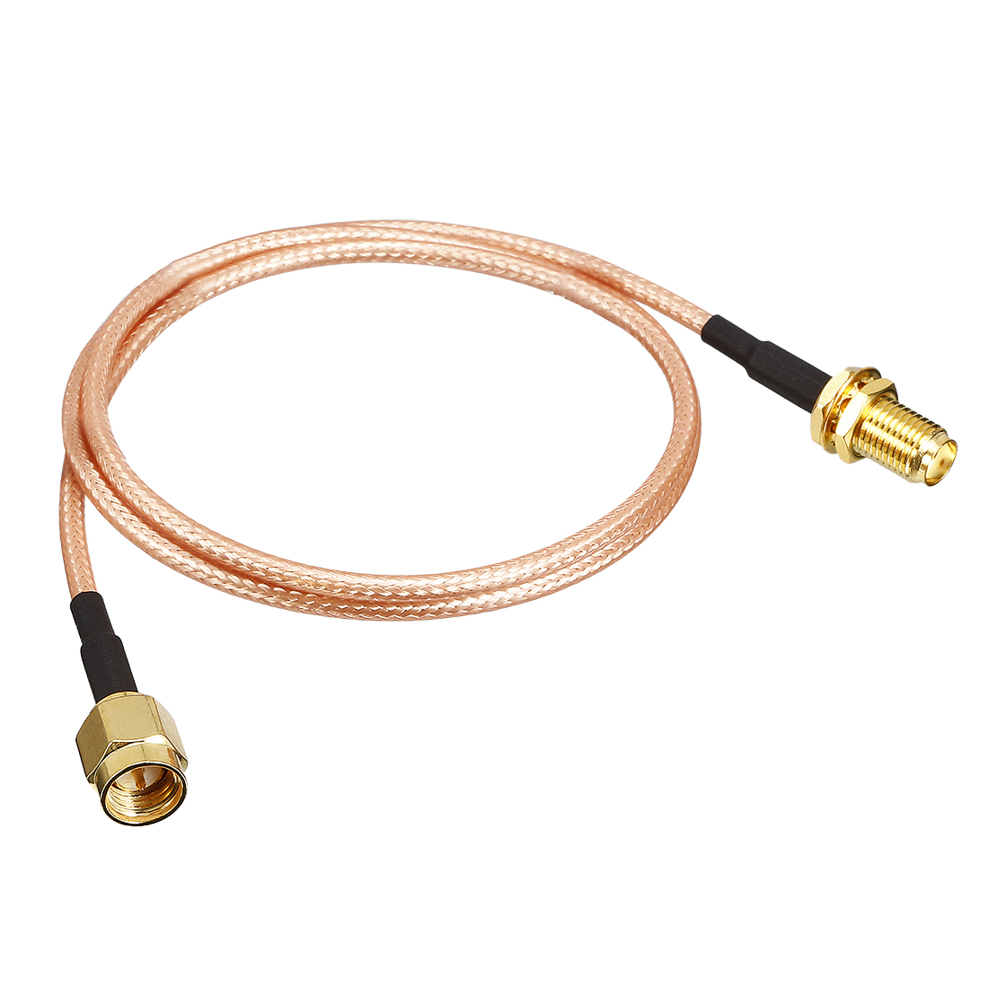 Gold-Plated SMA Male to SMA Female Jack RF Coaxial Adapter Connector 1.6ft Cable