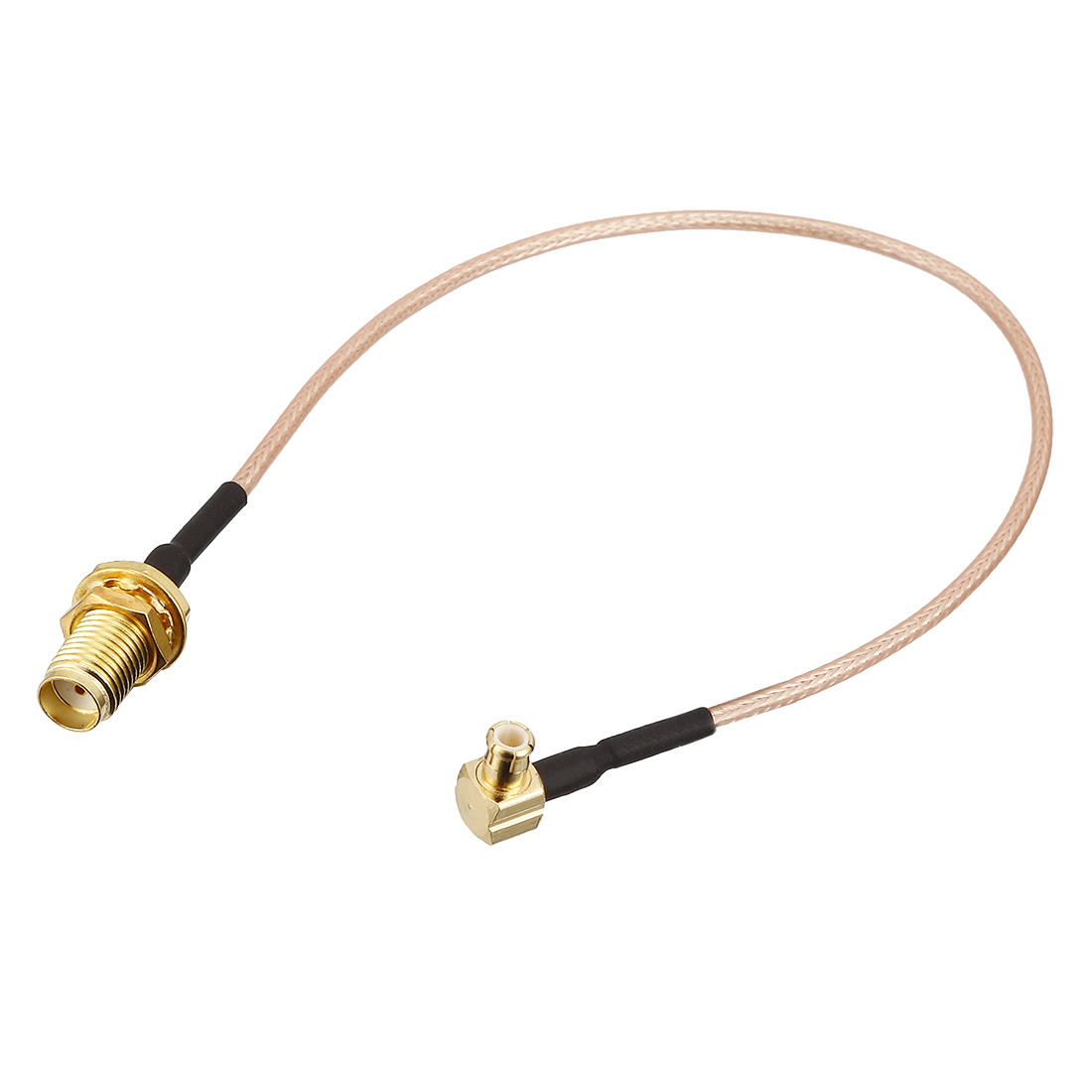 200mm Wire Long SMA Female to Right-angle MCX Male Jack RF Coaxial Connector