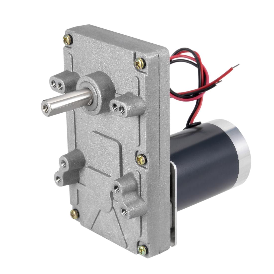 24V DC 70 RPM Gear Motor High Torque Electric Gearbox Eccentric Output Shaft