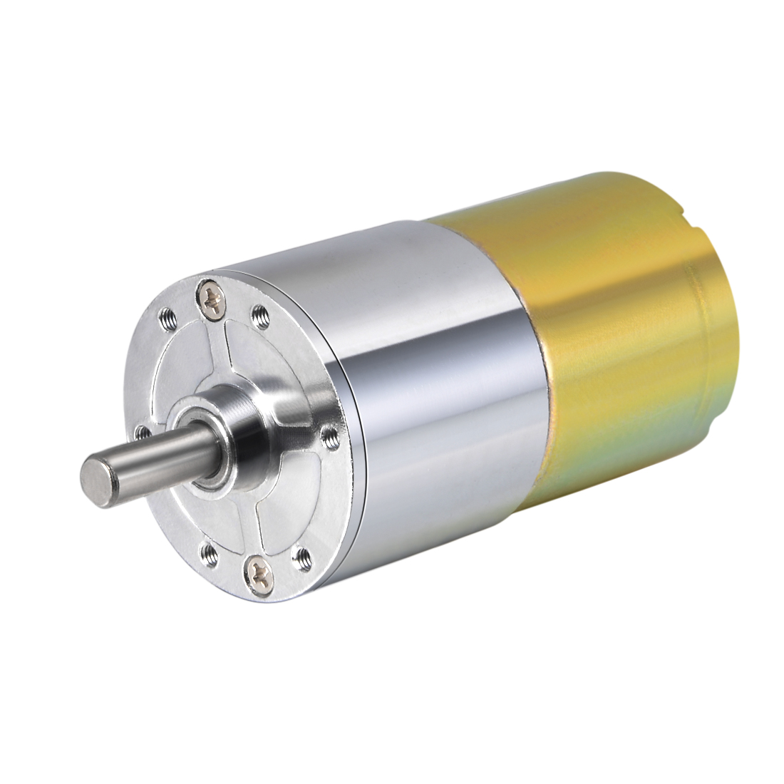 24V DC 20 RPM Gear Motor High Torque Reduction Gearbox Centric Output Shaft
