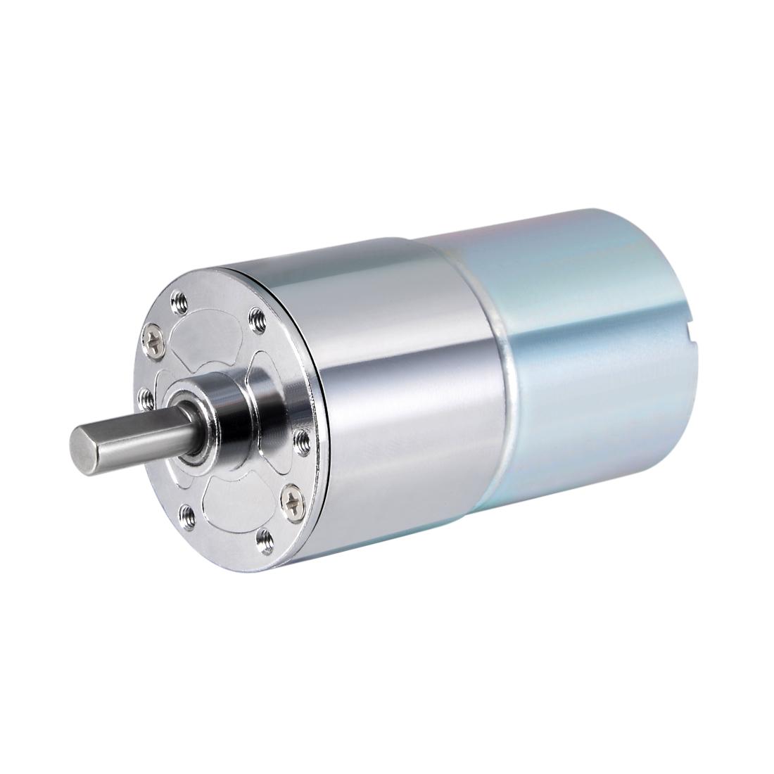 12V DC 20 RPM Gear Motor High Torque Reduction Gearbox Centric Output Shaft