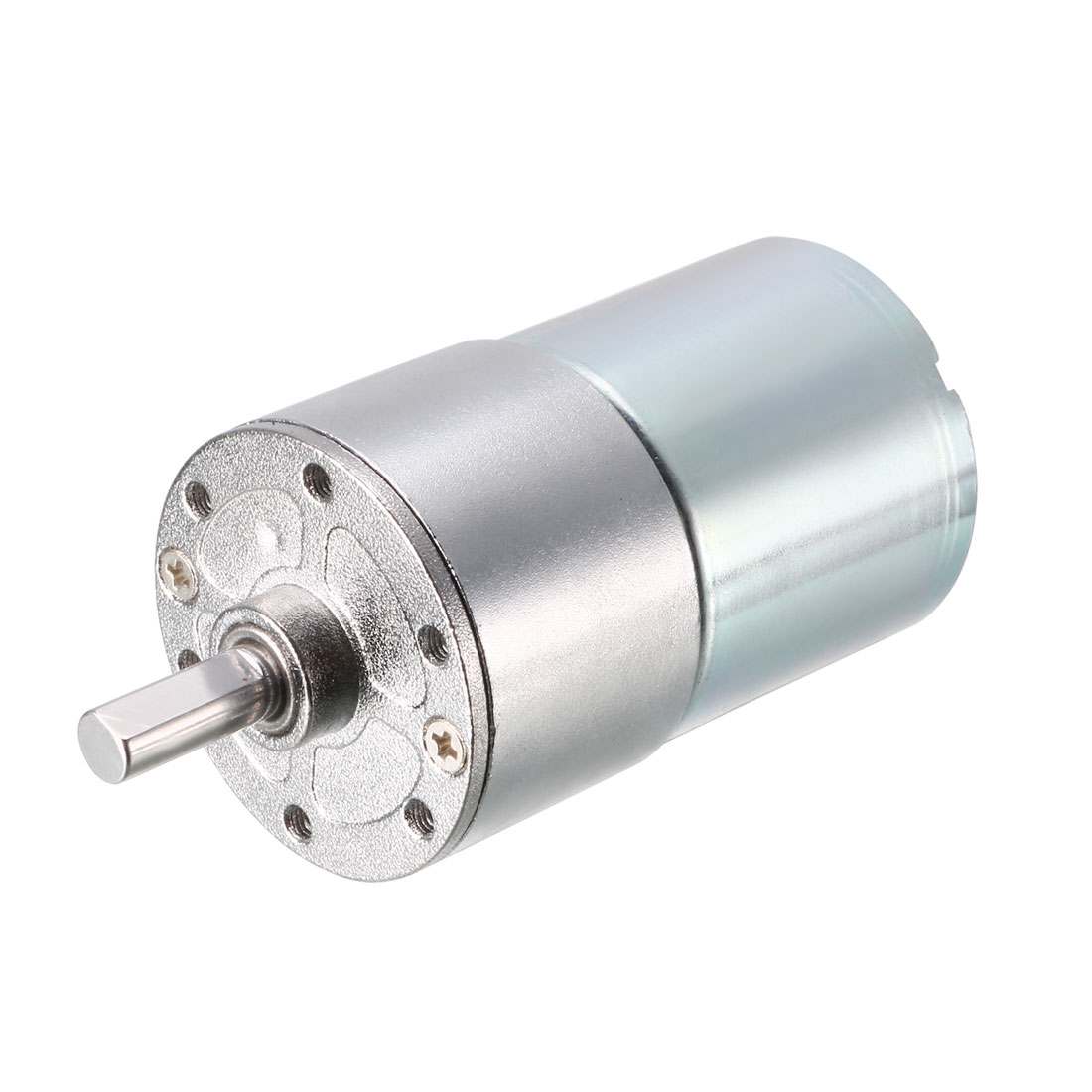 12V DC 100 RPM Gear Motor High Torque Reduction Gearbox Centric Output Shaft